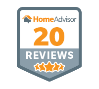 Home Advisor 20 Reviews Badge