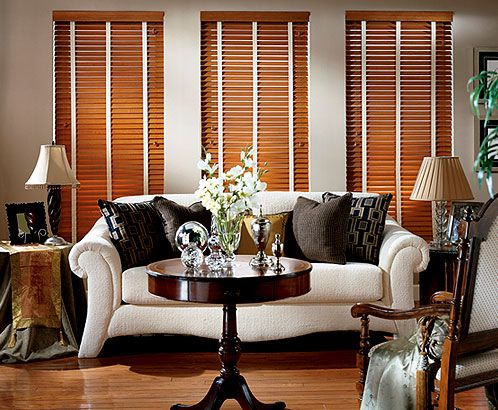 wood blinds for your home